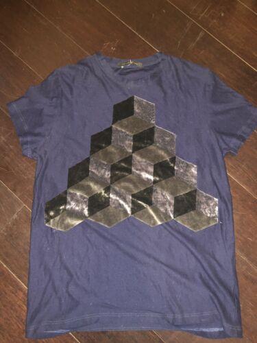 Christopher Kane Velvet Pyramid Cube T-Shirt $470… - image 1