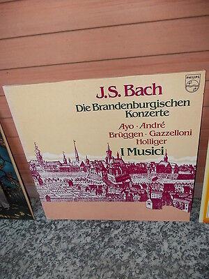 J. S. Bach: Die Brandenburgischen Konzerte, 2 Schallplatten