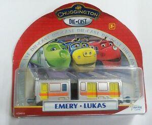 NIB TAKARA TOMY CHUGGINGTON DIECAST TRAIN-EMERY+LUKAS- FREE SHIP | eBay