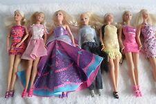 Barbie Lot Of Pretty Dressed Dolls (5)
