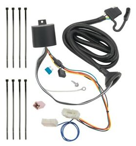 Trailer Wiring Harness Kit For 16 19 Honda Pilot All Styles Plug
