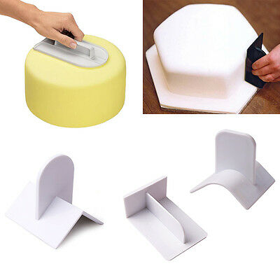 5Styles Cake Smoother Polisher Tool Cutter Decorating Fondant Sugarcraft  Mold