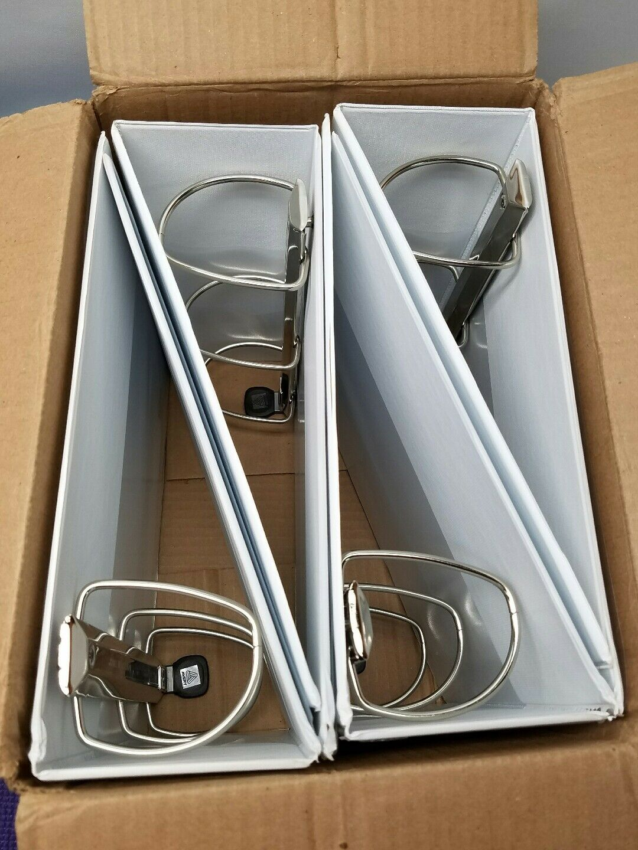 Avery® Heavy-Duty View Binder - EZD-Ring - 4  - White 79104 - QTY 4