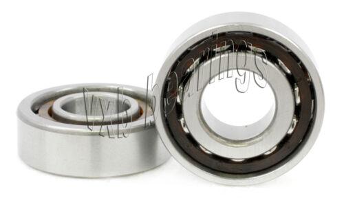 2 Bearing 7206B 30*62 Angular Contact mm Metric Ball