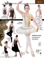 Jalie Ballet / Dance Leotard & Pull-on Tutu Skirt 22 Sizes Sewing Pattern 2915