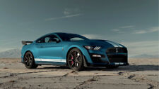 Poster of Ford Shelby GT500 Mustang Giant HD Muscle Car Huge Print 54x36 Inches