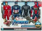 Hasbro Marvel Avengers Titan Heroes 4 Pieces Action Figures - Multicoloured (E5863)