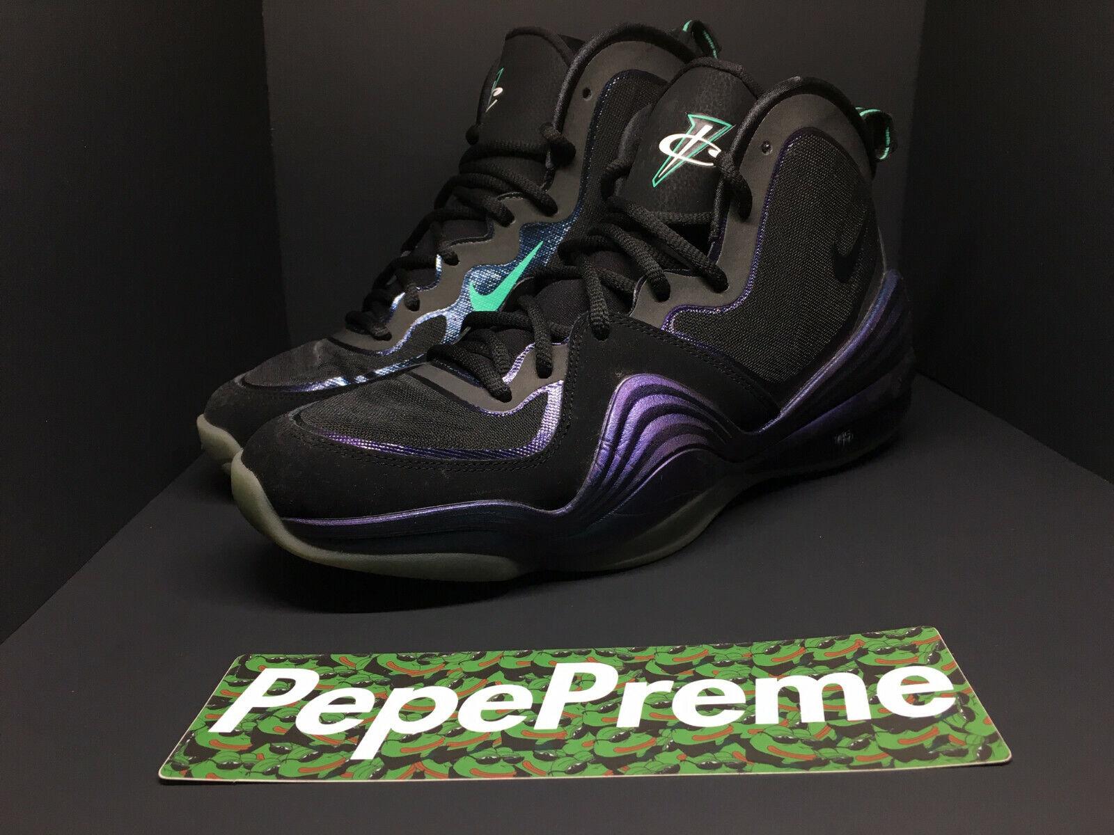 Nike Air Penny 5 V V V Invisibility Cloak 537331-002 Size 10 b14c5b