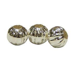 150-Metallperlen-Filigran-Spacer-Silber-Perlen-Rund-5mm-Schmuckperlen-F52