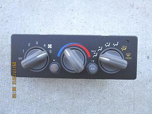 99-04 PONTIAC GRAND AM GT SE 3.4L V6 SFI A//C HEATER CLIMATE CONTROL 09363072