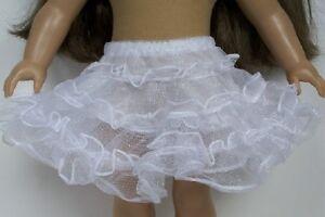 CRINOLINE PETTICOAT FOR 18 INCH AMERICAN GIRL DOLL CLOTHES