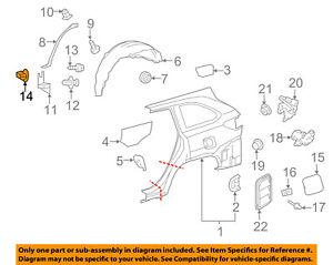 20pcs Fit TOYOTA Exterior-Rocker moulding Grommet Clip Nut 9018906006