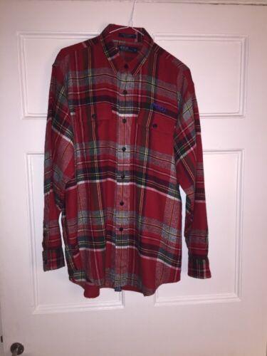 Xl overhemd Ralph Mens maat Polo Fab geruite Lauren A3 flanellen Tartan WE2D9IH