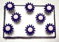 Sunflower Navy Pink Push Pins Set Of 8 Handmade Decorative Sale