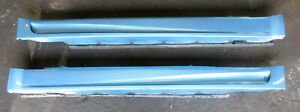 Genuine-Used-MINI-Electric-Blue-Pair-of-JCW-Aero-Side-Skirts-for-R50-R52-R53