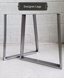 1-Pair-TRAPEZIUM-Table-Bench-Legs-Metal-Steel-Industrial-Rustic-MADE-IN-UK