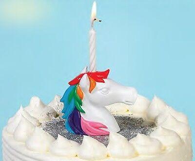 Einhorn Kerzenhalter Geburtstag / Feier- Unicorn Birthday Candle Holder