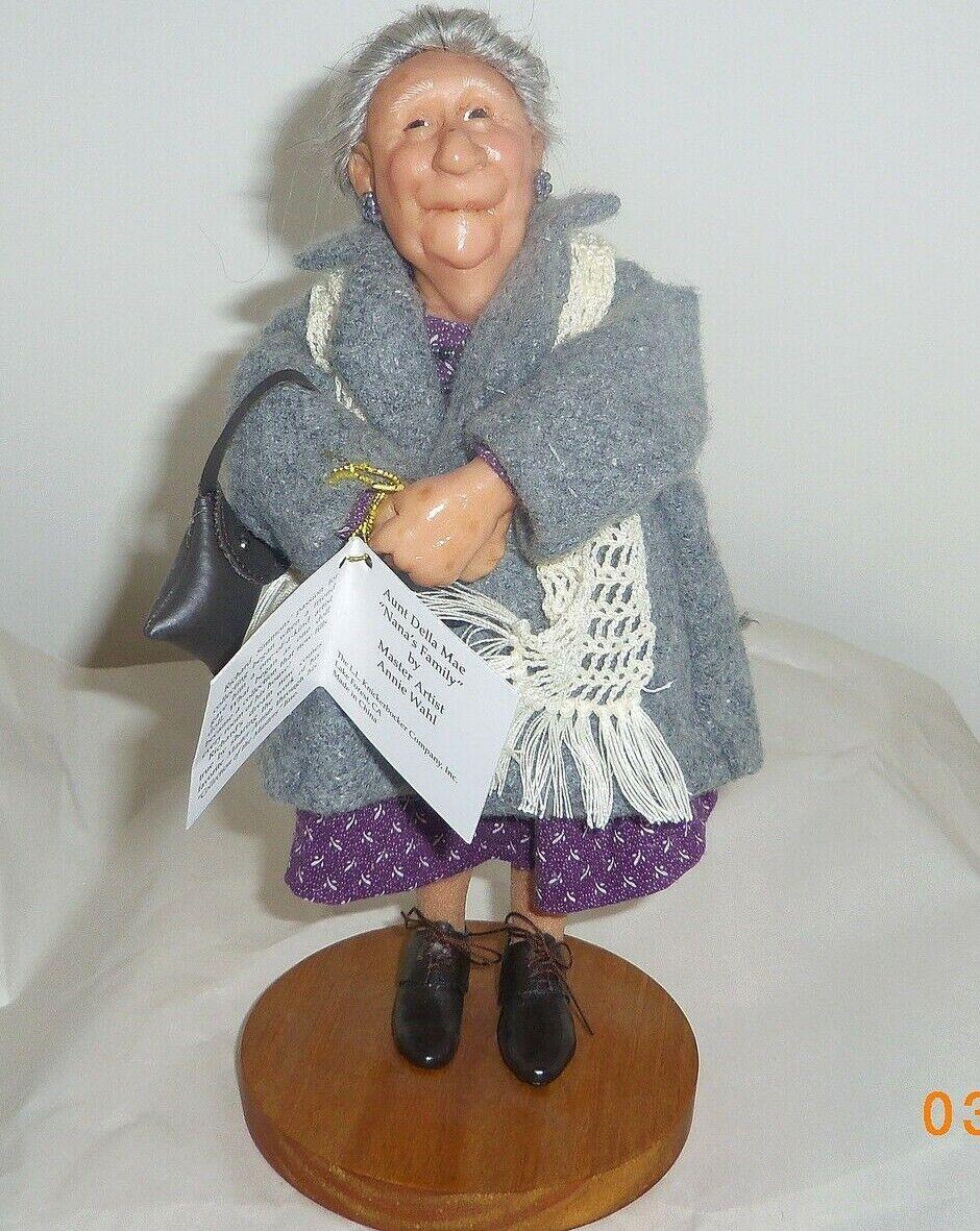 Aunt della Mae retirado Richard Simmons tercera edad 197009 Muñecas De Resina detallada