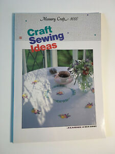 Memory Craft 8000 Craft Sewing Embroidery Ideas Book Janome Not A