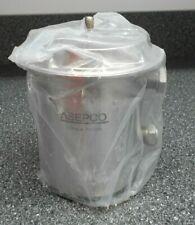 Asepco Size 2 Tank Valve Pneumatic Actuator Sanitary 4 Fitting