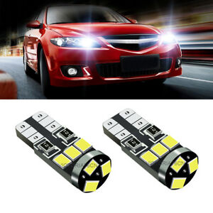 Mercedes M-Class W163 8SMD LED Error Free Canbus Side Light Beam Bulbs Pair