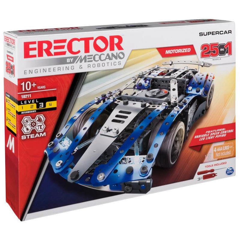 MECCANO 25 Model Supercar S.T.E.A.M. 18211 - Spin Master 6044495