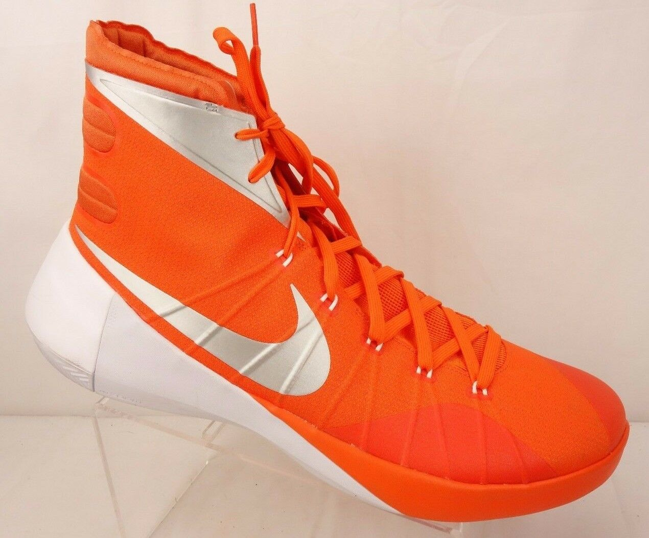 NEW NIKE Hyperdunk Basketball Shoes Men's 17.5 M Game Orange 812944-801 Wild casual shoes