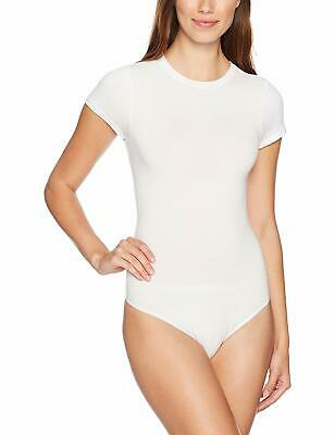 Yummie Seamless Full-Back Tank Body Suit-White-1X//2X-607672-NEW