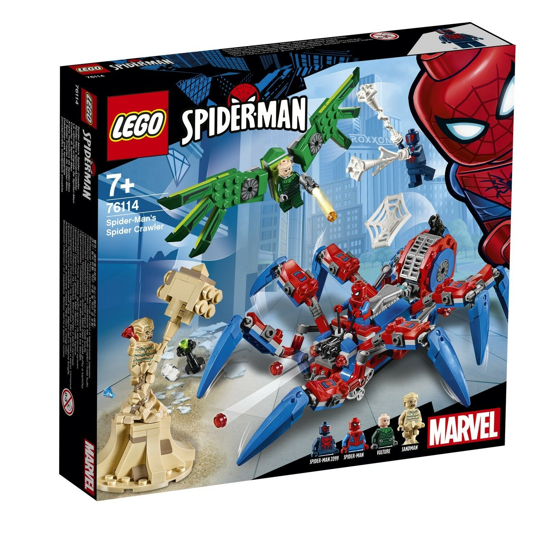 LEGO 76114-Marvel Super Super Super Heroes-Spider-Mans spinnenkrabbler 733049