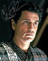 Chris Sarandon (The Princess Bride) Star Trek: DS9 8x10 Authentic Autograph