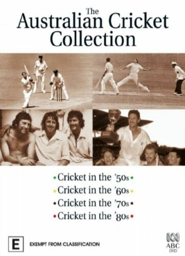 1 of 1 - The Australian Cricket Collection Boxset 4 disc (DVD, 2006) Brand new sealed R4