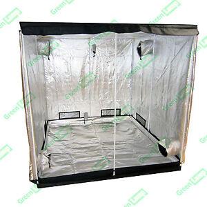 Hydroponics Grow Tent Silver Mylar Indoor BudDark Room 150cm x 150cm x 200cm