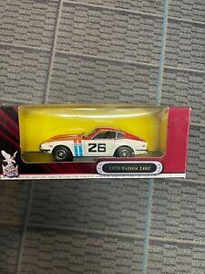 1970-Datsun-240Z-Road-Signature-1-18-Scale-Die-Cast-Model-Orange-CIB-26