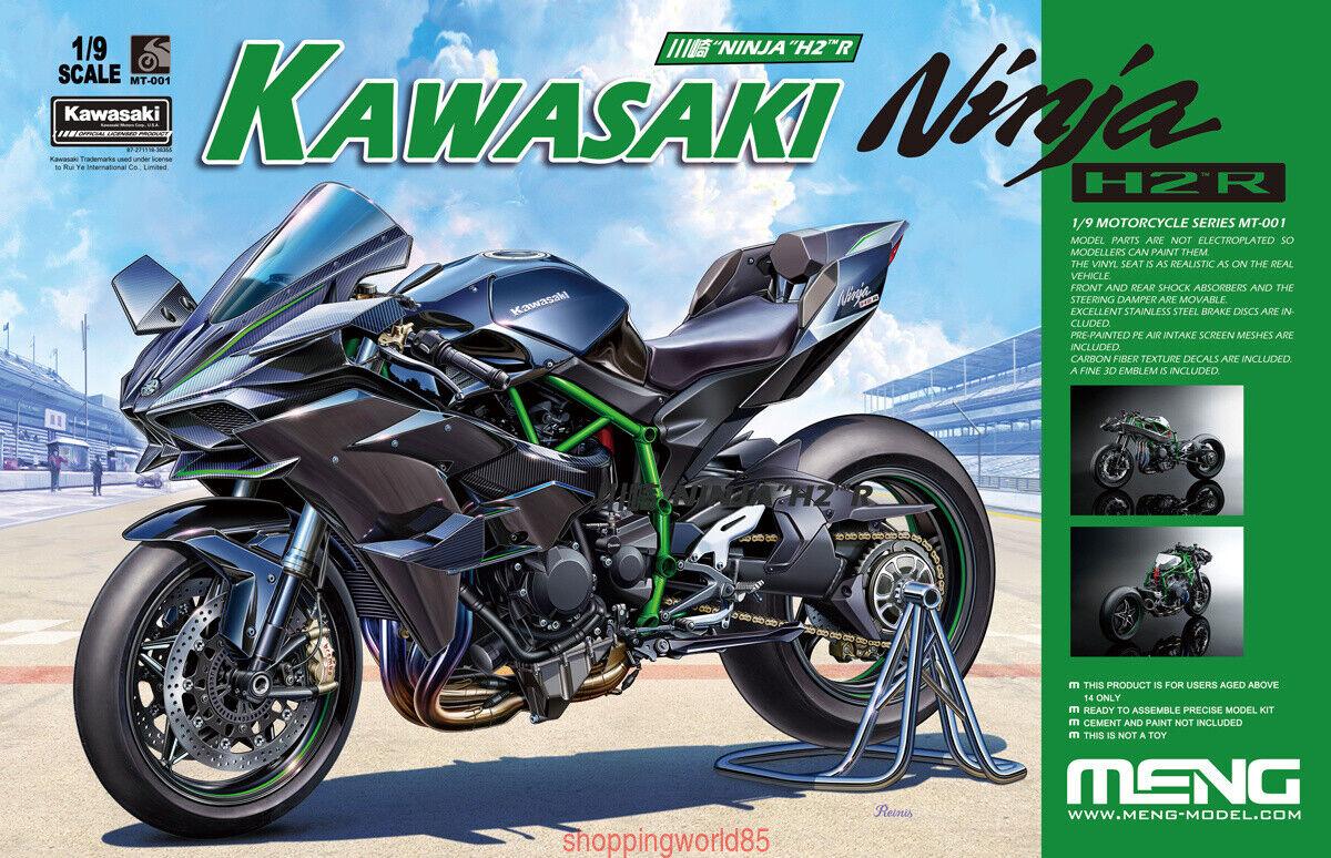 "Meng MT-001 1 9 川崎 ""NINJA"" Ninja H2 R KAWASAKI Model 2019 MOTORCYCLE SERIES Hot"