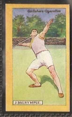 GALLAHER-BRITISH CHAMPIONS OF 1923-#70 J DALRYMPLE ATHLETICS