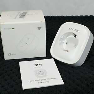Cnxus SP1 Wifi Smart Plug Socket (euro no UK) -...
