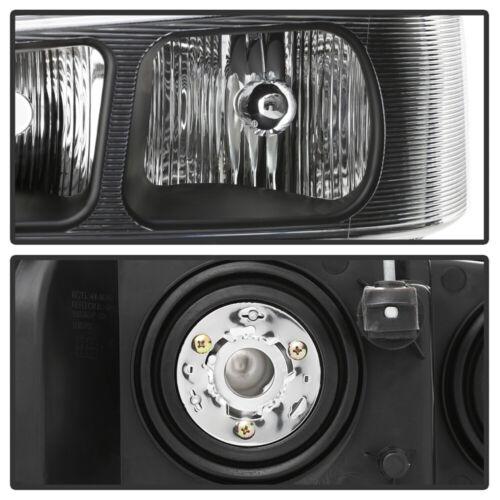 2003-2017 Chevy Express GMC Savana Van Headlights Replacement 03-17 Headlamps