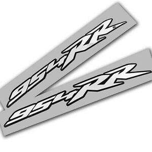 954RR-Motorcycle-decals-graphics-stickers-Silver-chrome-on-black-x-2