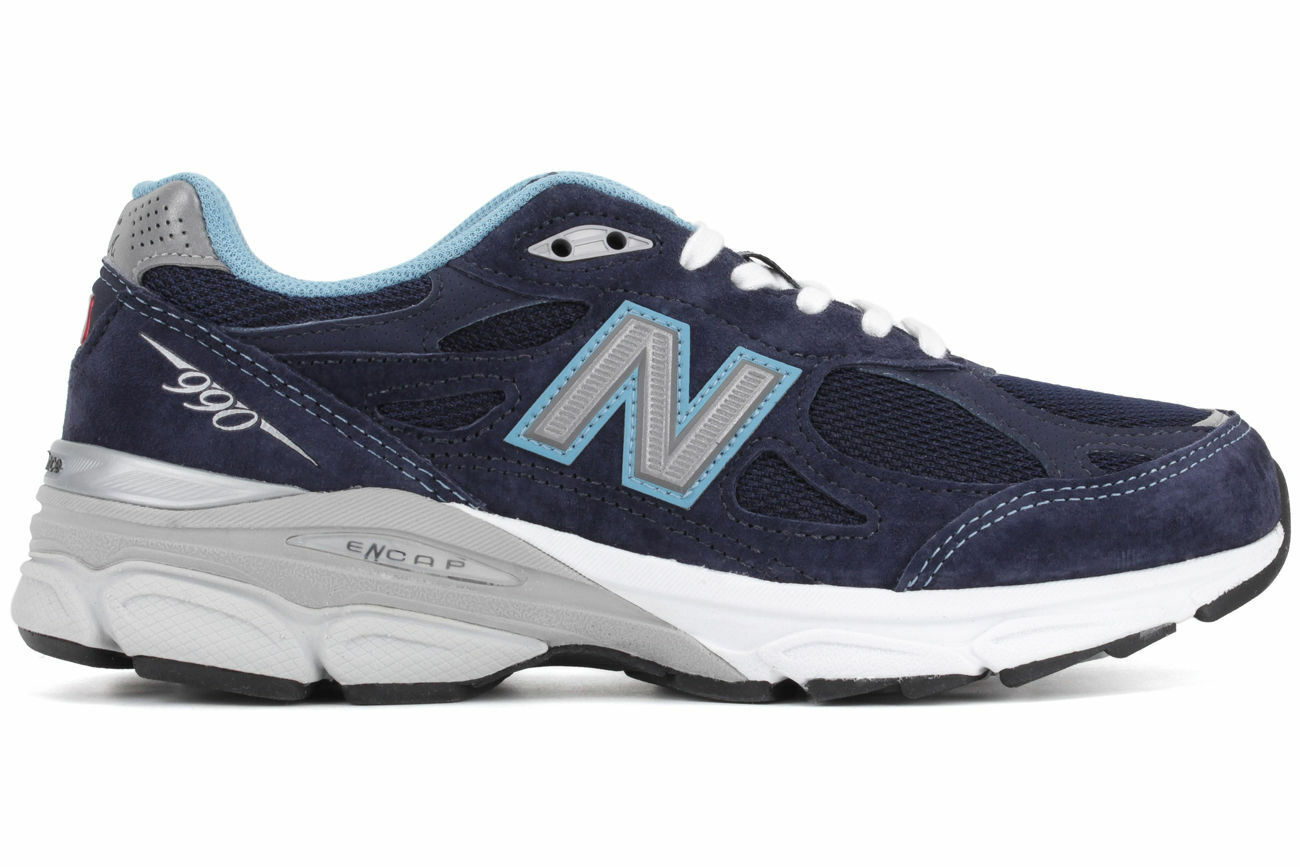 NEW  New Balance W990NV3 navy Running women shoes  Made in the USA Sz 5 D
