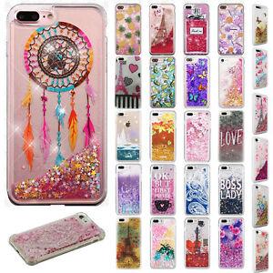 For-Apple-iPhone-8-amp-8-PLUS-Liquid-Glitter-Quicksand-Hard-Case-Phone-Cover