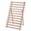 Milward Wooden Spool Holder Organiser for 120 Thread Spools Durable Beech Wood