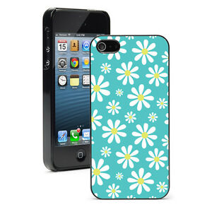 For-Apple-iPhone-X-XS-Max-XR-SE-6-6s-7-8-Plus-Hard-Case-Cover-1290-Daisy-Flowers