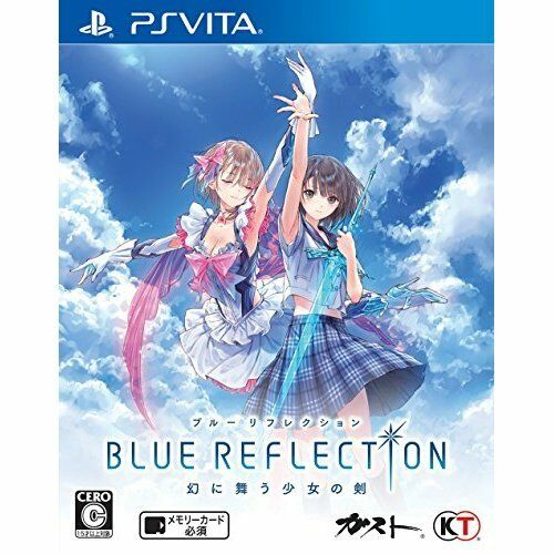 New PS Vita blueE REFLECTION Import Japan