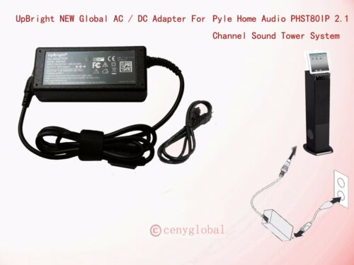 AC Adapter For Pyle Home PHST80IP PHST96 PHST96IPCW FJ-SW2102800 iPad//iPod Dock