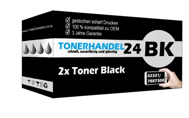 2x TN3512 Toner kompatibel für Brother HL-L6250 HL-L6300 DCP-L6600 MFC-L6800 DW