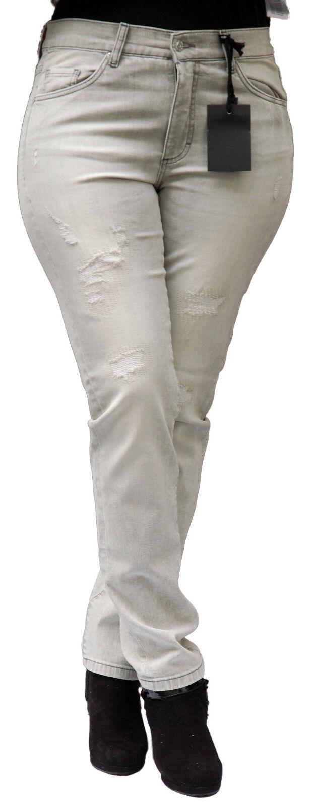 Angels Jeans Skinny destroy Light grau used Buffi Art.363