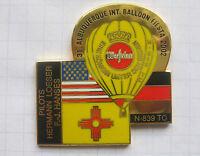 WARSTEINER HERMANN LOESER ALBUQUERQUE BALLON N-839 TC .. Bier-Ballon-Pin(262bc)