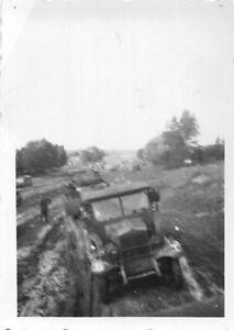 Orig-Foto-3-Panzerdivision-Fahrzeug-Schlam-Vormarschstrasse-vor-Romny-Ukraine
