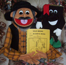 Gold Mining in God's Word VBS curriculum with Gold Miner & Bible Puppets New