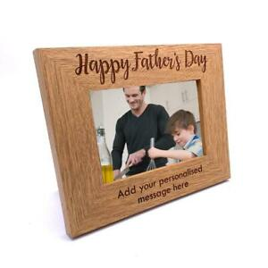 Personalised Grandad And Me Happy Fathers Day Picture Photo Frame Keepsake Gift